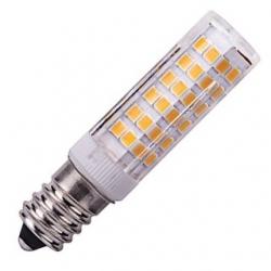 Lampadina E14 76 LED SMD 2835 Bianchi Caldi 5 W