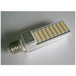 Lampada E27 a 40 LED SMD 5050 Bianchi Caldi 8 W