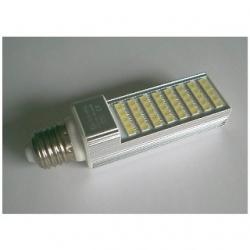 Lampada E27 a 40 LED SMD 5050 Bianchi Naturali 8 W