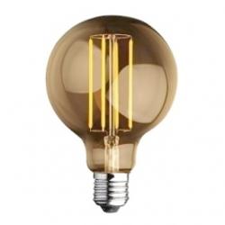 Lampadina E27 globo Edison a filamento LED 4 W Bianchi Caldi