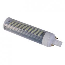 Lampada G24 PLC 2PIN a 40 LED SMD 5050 Bianchi Caldi 10 W