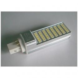 Lampada G24 PLC 4 PIN a 40 LED SMD 5050 8 W Bianchi Naturali