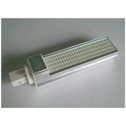 Lampada G24 PLC 4 PIN a 120 LED SMD 1210 13 W Bianchi Caldi