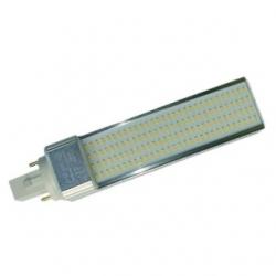 Lampada G24 PLC 2 PIN a 120 LED SMD 1210 13 W Bianchi Caldi