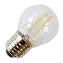 Lampadina G45 a bulbo E27 a filamento LED SMD 2 W Bianco Caldo - 4261