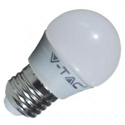 Lampadina G45 a bulbo E27 con LED SMD 6 W Bianco Naturale - 4248