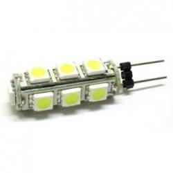 Lampadina G4 a 13 LED SMD 5050 Bianchi Freddi 2,7 W