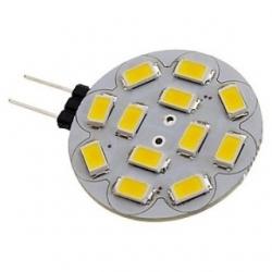 Lampadina G4 a 12 LED SMD 5730 Bianchi Caldi 2,5 W