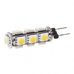 Lampadina G4 a 13 LED SMD 5050 Bianchi Caldi 2,7 W