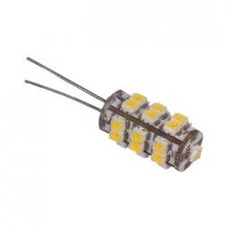 Lampadina G4 a 25 LED SMD 1210 Bianchi Caldi 1,5 W