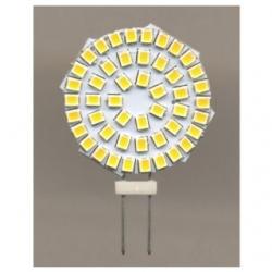 Lampadina G4 a 48 LED SMD 2835 Bianchi Caldi 2 W
