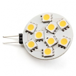 Lampadina G4 a 9 LED SMD 5050 Bianchi Caldi 2 W