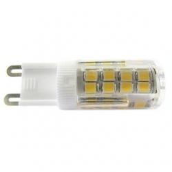 Lampadina G9 a 51 LED SMD 2835 4 W Bianco Caldo