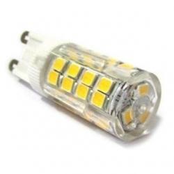 Lampadina G9 a 51 LED SMD 2835 4 W Bianco Naturale