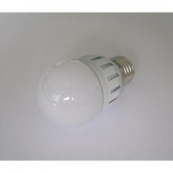 Lampadina A50 a bulbo 12 LED 5 W E27 Bianco Caldo