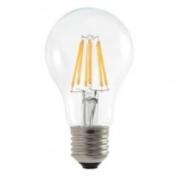 Lampadina LED A60 bulbo a filamento 7,5 W Bianco Caldo