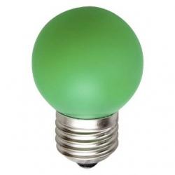 Lampadina LED Bulbo G45 E27 4W Verde