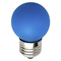 Lampadina LED Bulbo G45 E27 4W Blu