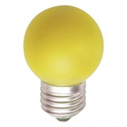 Lampadina LED Bulbo G45 E27 4W Gialla