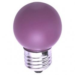 Lampadina LED Bulbo G45 E27 4W Viola