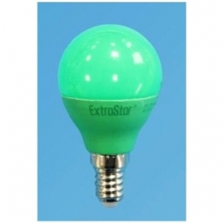 Lampadina LED Bulbo G45 E14 4W Verde