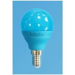 Lampadina LED Bulbo G45 E14 4W Blu