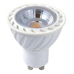 Lampadina LED COB MR16 GU10 7 W plastica Bianco Caldo