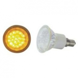 Lampadina LED MR16 E14 230V 20 LED Gialli