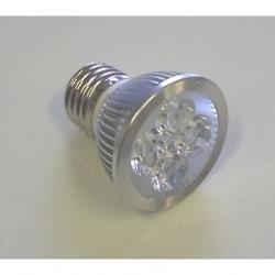 Lampadina LED MR16 4x1,5 W E27 Bianchi Caldi