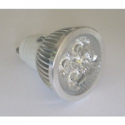 Lampadina LED MR16 4x1,5 W GU10 Bianchi Caldi