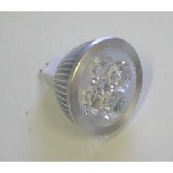 Lampadina LED MR16 GU5.3 4x1,5 W Bianchi Caldi
