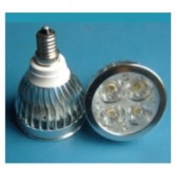 Lampadina LED MR16 4x1 W E14 Bianchi Freddi
