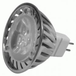 Lampadina LED MR16 GU5.3 3x1 W Bianchi Caldi