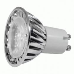 Lampadina LED MR16 GU10 3x1 W Bianchi Freddi