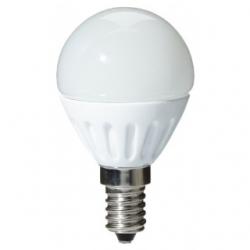 Lampadina LED a bulbo E14 3 W Bianco Freddo