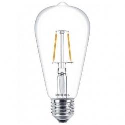 Lampadina LED bulbo a filamento 2,3 W E27 Bianco Caldo