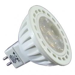 Lampadina MR16 GU5.3 a LED SMD 4x1 W plastica Bianco Naturale - 1547
