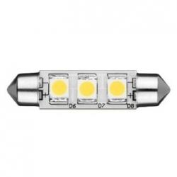 Lampadina Spade a 3 LED SMD 5050 0,66 W Bianchi Freddi