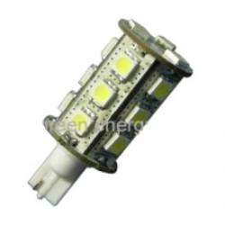 Lampadina T10 a 18 LED SMD 5050 3,2 W Bianchi Caldi