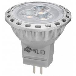 Lampadina dicroica 3 LED SMD MR11 GU4 2 W Bianchi Caldi