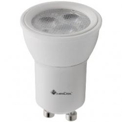 Lampadina dicroica 3 LED STD MR11 GU10 3 W Bianchi Caldi - 21268