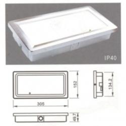 Luce d'emergenza a LED - QUARK 40