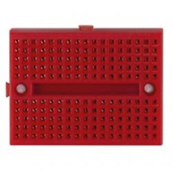 Mini piastra sperimentale 170 contatti Rossa 2 pezzi