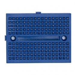 Mini piastra sperimentale 170 contatti Blu 2 pezzi