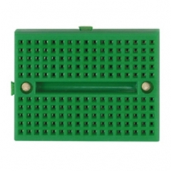 Mini piastra sperimentale 170 contatti Verde 2 pezzi
