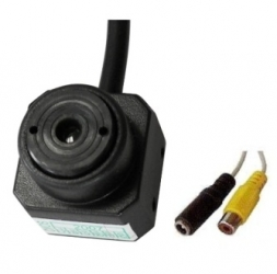 "Mini telecamera B/N 1/3"" CMOS."