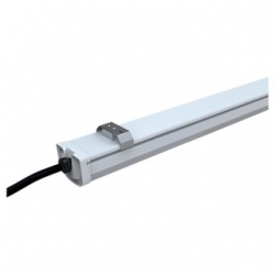 Plafoniera LED 120 cm. autoalimentata con staffa 40 W Bianco Freddo