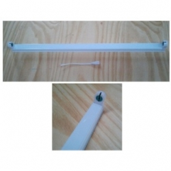 Porta lampada per tubo Neon T8 a LED da 60 cm.