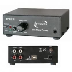 Preamplificatore Phono UPR-2.0 con USB Dynavox Nero