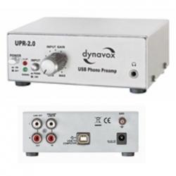 Preamplificatore Phono UPR-2.0 con USB Dynavox Argento